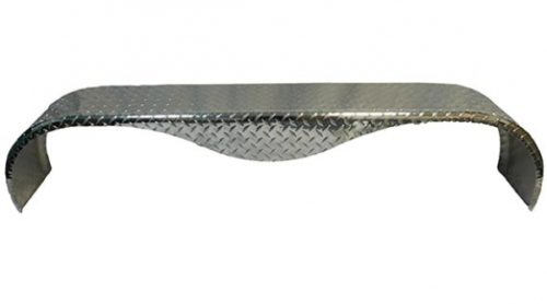 BOAT TRAILER PARTS PLACE – TAMPA FLORIDA -FENDER TEARDROP DIAMOND PLATE ALUMINUM PI1909