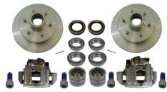 "BOAT TRAILER PARTS PLACE - TAMPA FLORIDA -BRAKE KIT 12"" 6LUG COMPLETE WITH CALIPERS AND HARDWARE PG2033"