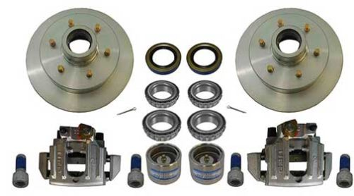 """BRAKE KIT 12"""" 6LUG COMPLETE WITH CALIPERS AND HARDWARE PG2033"""