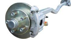 Axles 2x3 V 5-Lug DISC Brakes UFP 1-3/8X1/16 Spindels