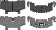 DEEMAXX STAINLESS BRAKE PAD(SET) 3-6K PAD-SS