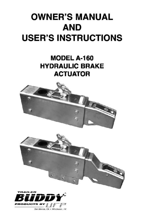 UFP BRAKE KIT 10 INCH 6000LB STAINLESS STEEL PG1030-1 3