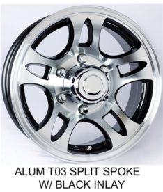 Rainier Radial Tires On Aluminum Wheels