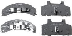 KODIAK DISC BRAKE PADS 3.5-6K DBC225PAD