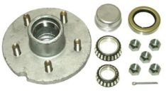 "BOAT TRAILER PARTS PLACE - TAMPA FLORIDA -HUB KIT 5 LUG 1-1/16x1-1/16"" GALVANIZED PD1602"