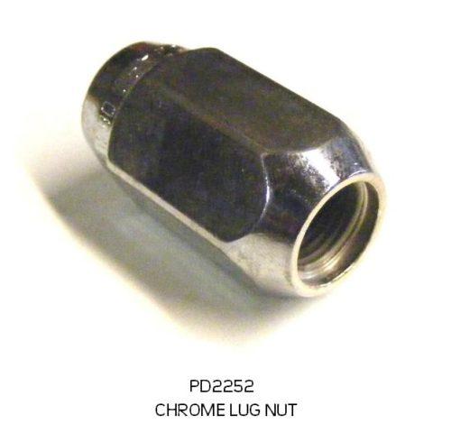LUG NUT CHROME LONG PD2252 2