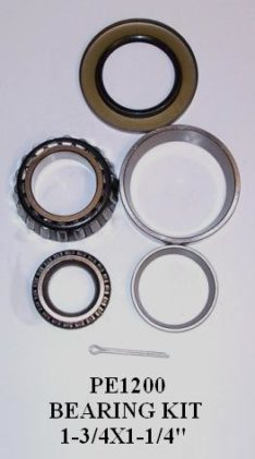 "BEARING KIT 1-3/4""X1-1/4"" 6 LUG PE1200"