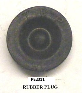 CAP PLUG POSI LUBE PE2311 2