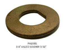 AXLE WASHER D 3/4""