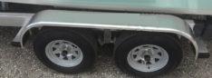 ALUMINUM FENDER SMOOTH PI1857 BOAT TRAILER PARTS PLACE - TAMPA FLORIDA