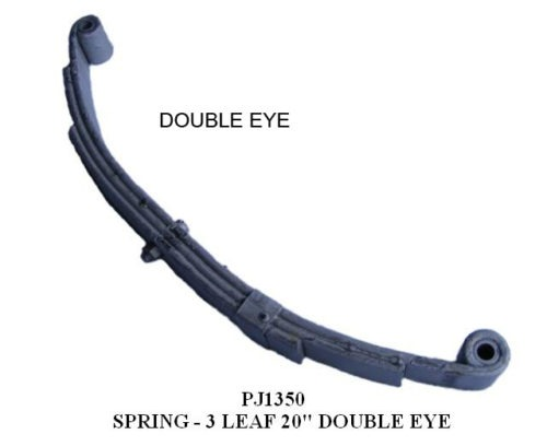 SPRING KIT 25-1/4″ 4LF DE 2×2 AXLE PJ1450KIT 3