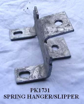 SPRING HANGER SGL EYE PK1731