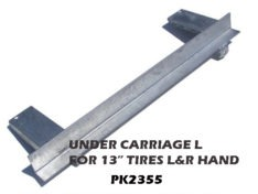 "UNDER CARRIAGE ANGLE 38"" W/8"" STEP PADS L/R PK2350-PK2360"