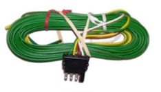 "4 WAY WIRE HARNESS W/30"" GROUND"