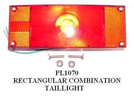TAILLIGHTS REGULAR BULBPL1070 – PL1080 3