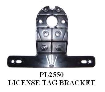 LICENSE PLATE HOLDER PL2550