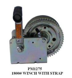 WINCH 1800LB W/STRAP