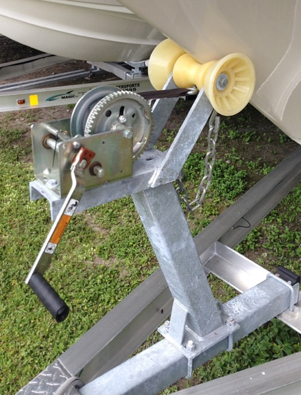 Fixed Winch Post/Bow Stop