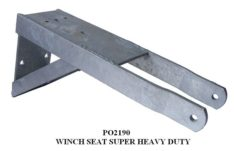 HEAVY DUTY WINCH SEAT W/ARMS PO2190