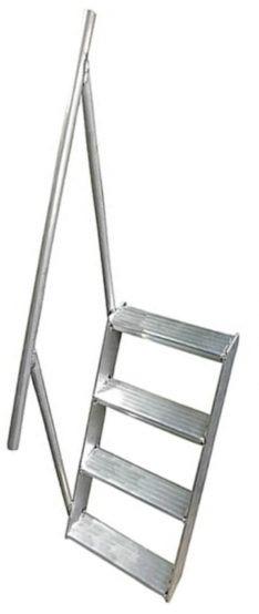 "Alum Pontoon Ladder - 33"" PO2862"