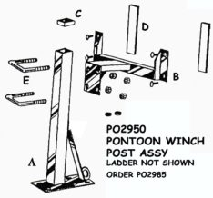 Winch Post Parts