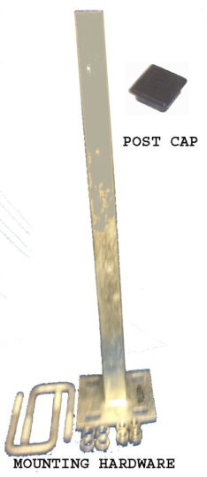 PWC POST 2 INCH TONGUE PO3520