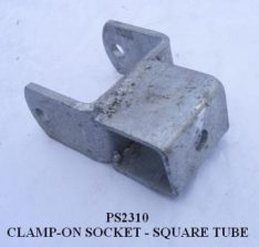"""Clamp-On BRACKET 3"""" 1-1/2 Tube Channel PS2310"""