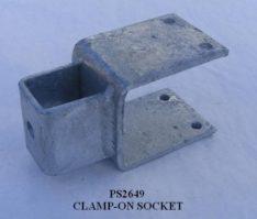 CLAMP ON BRACKET 3x3 PS2649