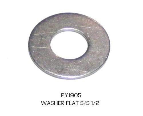 "WASHER FLAT S/S 1/2"" PY1905"