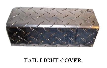 TAIL LIGHT COVERS HD ALUM – PL2875LH 2