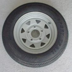 Radial Tires On Galvanized Wheels