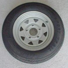 Radial Tires On Galvanized Wheels