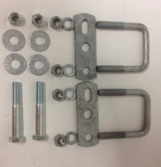 "SPRING MOUNT KIT 1 AXLE 1-1/2"" AX PK1000"