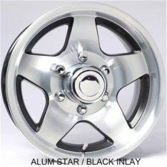 Goodyear Radial Tire On Aluminum Wheels