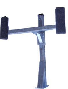PONTOON POST W/SEAT ASSEMBLY W/O Ladder-PO2950