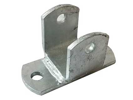 BOAT TRAILER PARTS PLACE - TAMPA FLORIDA - HANGER 2 HOLE PK1702-T