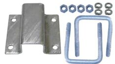 BUNK BRACKETS CLAMP ON ALUMINUM AND GALVANIZED