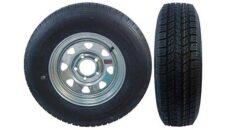 Galvanized Wheels w/Bias Ply Tires