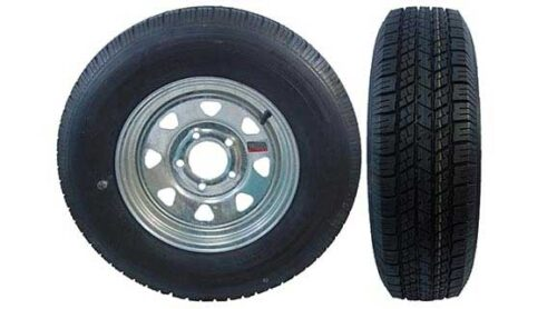 5LUG GALVANIZED WHEELS WITH RADIAL TIRES BOAT TRAILER PARTS PLACE – TAMPA FLORIDA