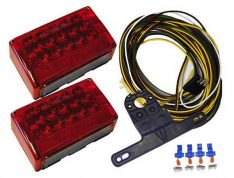 """Jammy Trailer Light Kit Lighting is all DOT/SAE Approved and backed BY (JAMMY) standard manufacturer's warranty LED Over 80"""" Submersible Includes"""
