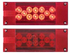"""OPTRONICS LED TRAILER LIGHT KIT FOR OVER 80"""" WIDE TRAILERS – BOAT TRAILER PARTS PLACE – TAMPA FLORIDA"""
